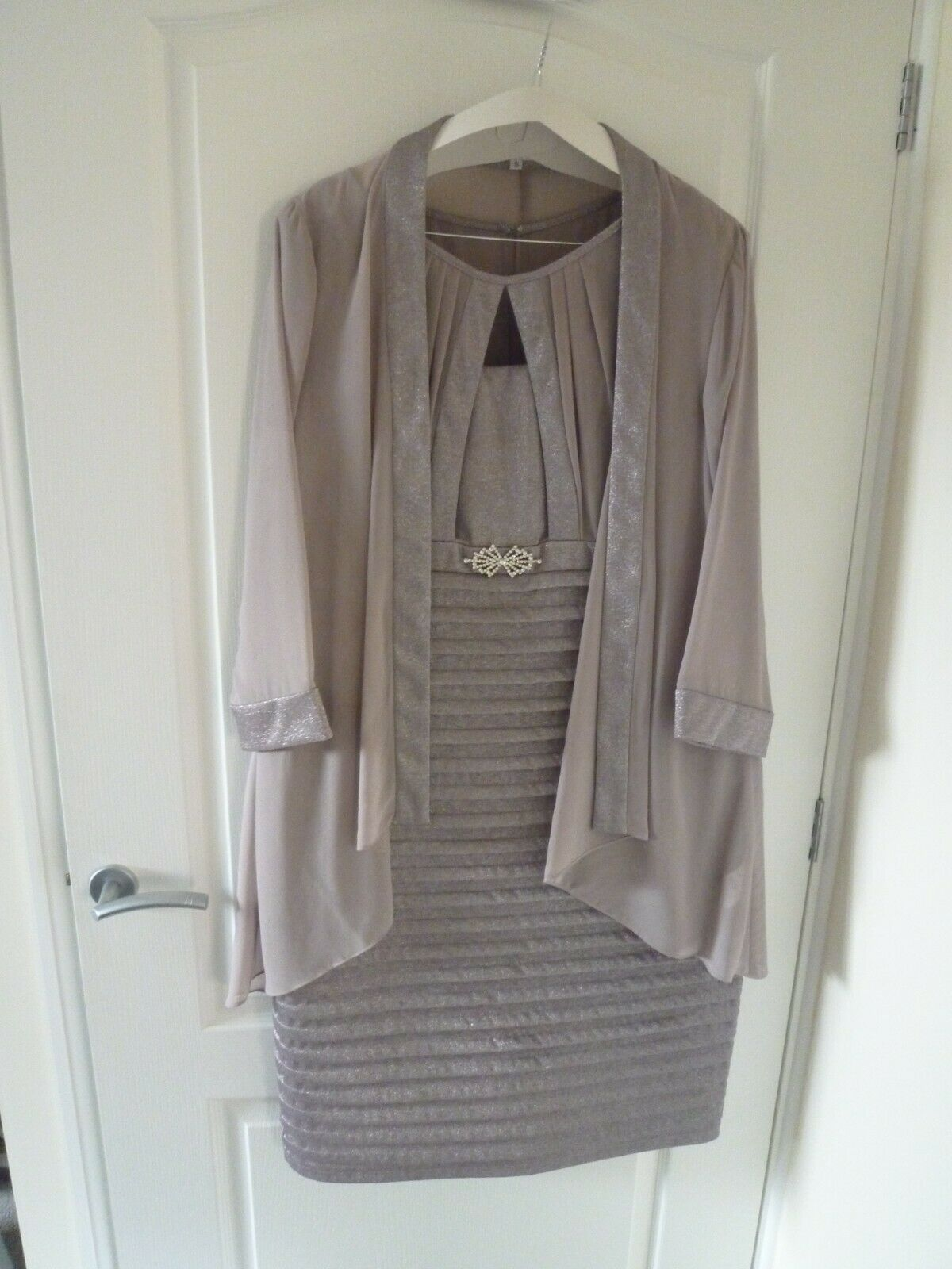 mother of the bride groom dress & jacket