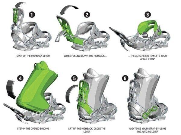 SP SP SP FT 180 SMU Fastec Step-In SP Snowboard Bindung Gr. M für Stiefel Größe 40 - 44  | Elegant Und Würdevoll  b442db