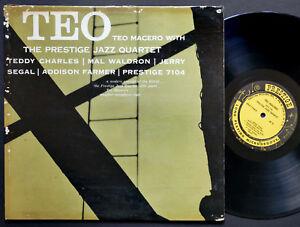 TEO-MACERO-Quartet-Teo-PRESTIGE-PRLP-7104-US-1957-RVG-DG-MONO-W-50th-Mal-Waldron