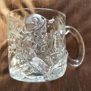 1995 McDonald/'s DC Comics Batman Forever Riddler Mug//Glass