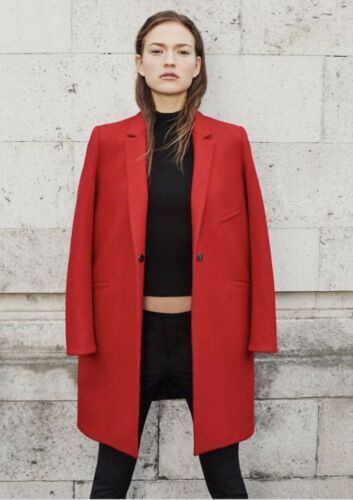 stile maschile cappotto terracotta Zara Zara terracotta FzxZX