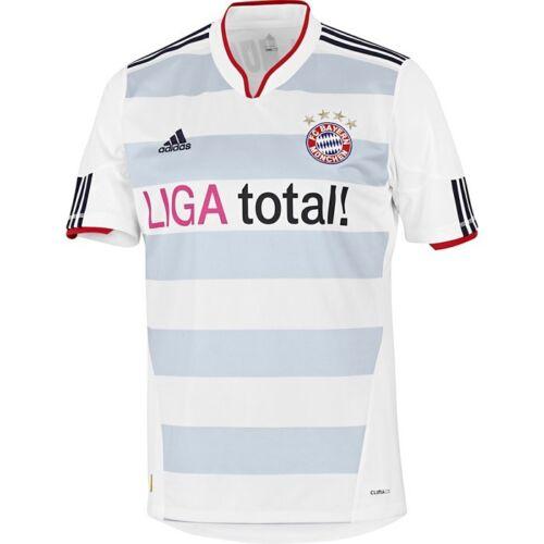 FCB NOUVEAU * * MAILLOT ADIDAS FC Bayern Munich 2010-2011-2012 Away xxl et 3xl