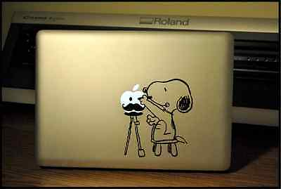 Picasso Snoopy: Apple Macbook Pro & Air LAPTOP Decal/Sticker