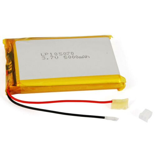 5A PLIB5000MAH RECHARGEABLE BATTERY FOR POLYMER LITHIUM 3,7 V 5000 mA