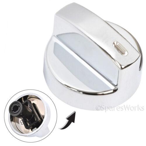 FLAVEL MILANO Genuine Oven Cooker Temperature Hob Switch Knob Silver x 1