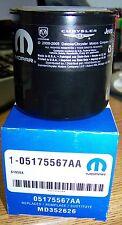 CHRYSLER DODGE MOPAR OEM ENGINE OIL FILTER 5175567AA FOR MITSUBISHI 3.0 MOTOR