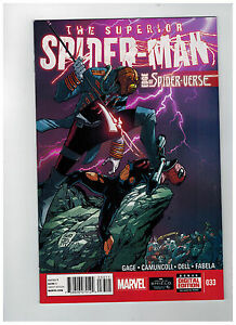 SUPERIOR-SPIDER-MAN-33-1st-Printing-Edge-of-Spider-Verse-2014-Marvel-Comics