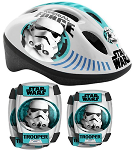 Stamp Sw190507 Predective Set Star Wars Helmet and Knee Pads and Elbow Pads