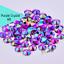 Acrylic-Crystal-Rhinestones-Pearls-Bead-Flat-Back-MIX-3-SIZES-Nail-Art-Gems thumbnail 5