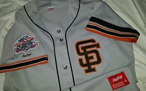 5a4f83658 Will Clark San Francisco Giants 1989 World Series Authentic Rawlings ...