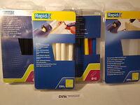 Heissklebesticks    12/190mm  Rapid 4x  250g   Schwarz/weiß´/Farbig/Transp