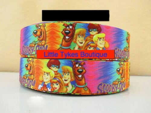 """Scooby Doo Ribbon 1/"""" Wide 1m is only £0.99 NEW"""