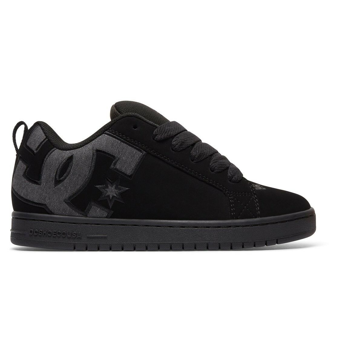 DC DESTROY Schuhe COURT GRAFFIK SE BLACK DESTROY DC WASH TRAINERS (UK 9-14) 15f403