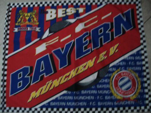 75 x 55 cm     Fussball RARITÄT!Fahne  Best Bayern München Soccer Team ca