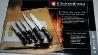 Kuchenstolz 9-piece Cutlery Set Plus Cutting Board