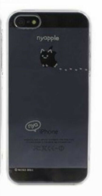 Japan Creative Cute Cutie Lazy Cat Cats Eat Apple Hard Case Cover iPhone 5 5S 45
