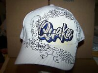 Rancho Cucamonga Quakes Minor league baseball hat- FITTED LARGE--ADULT-WHITE