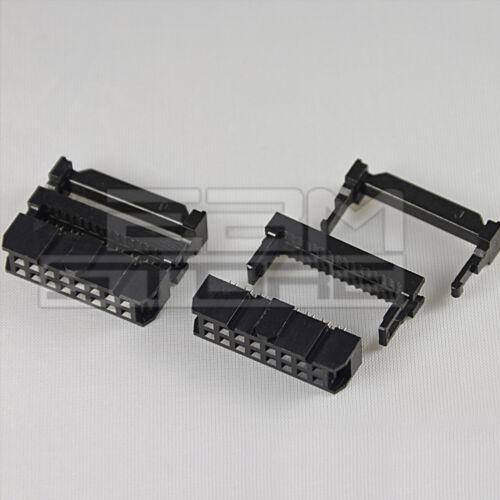 BO03 2 pz Connettore IDC femmina 16 poli per cavo piatto ART