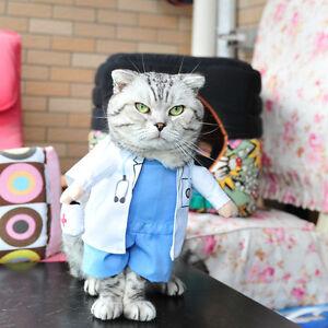 image is loading pet dog cat halloween costume doctor nurse costume