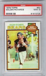 New Listing 1979 TOPPS Golden Richards (#52) PSA 9 MINT (Chicago Bears)