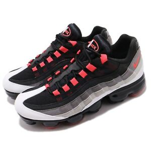 8d0d4321fd58 Details about Nike Air Vapormax 95 Hot Red White Dark Pewter Men Running  Shoes AJ7292-101