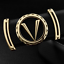 Good-Quality-V-letter-Black-genuine-leather-designer-belts-men-Fashion-Cowskin thumbnail 1