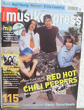 Musikexpress 7 Juli 2002 ohne CD RHCP Korn Neil Young Weezer Elvis Costello Oasi