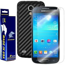 ArmorSuit MilitaryShield Samsung Galaxy S4 Mini Screen Protector + Black Carbon