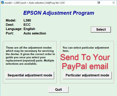 Epson L380 Adjustment Program + Keygen | eBay