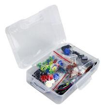 Electronic Component Starter Kit Capacitor Breadboard Led Buzzer Resistor Set