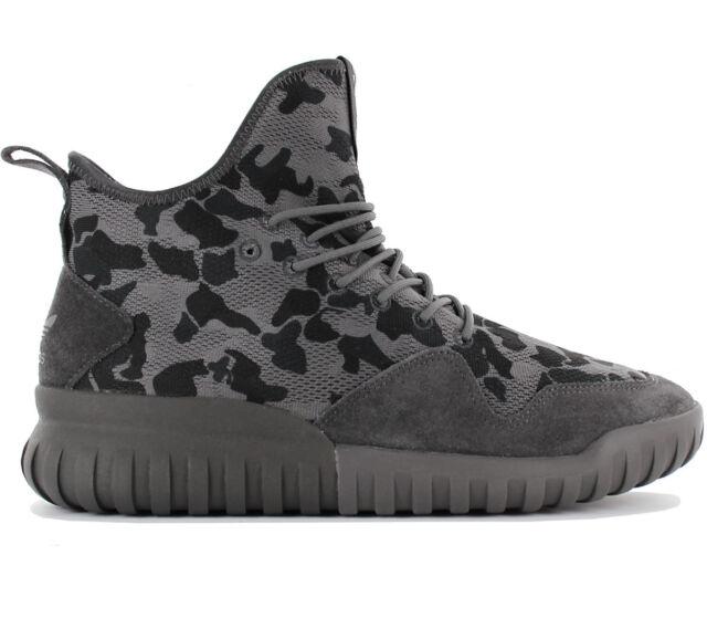 3f2086b88 Adidas Originals Tubular x Uncgd Uncaged Trainers Shoes Grey Camouflage  Bb8403
