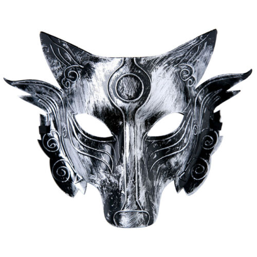 Plastic Animals Wolves Masks for Children Adult Masquerade Masks Party Costume