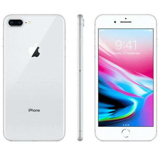 APPLE IPHONE 8 PLUS 64GB SILVER GRIGIO 64 GB 5,5   NUOVO GARANZIA ITALIA 64 GB