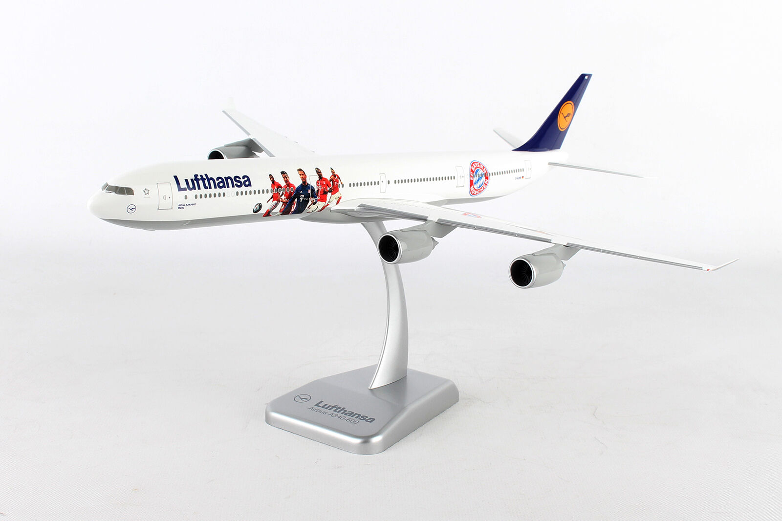 Limox Wings Lufthansa New Livery Airbus A340-600 1:200  LW200DLH005