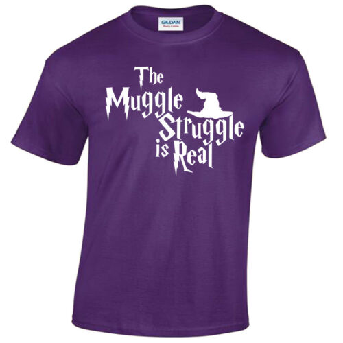 The Muggle Struggle Is Real T-Shirt Funny Potter inspired gift harry mens