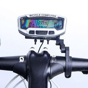 Cyclisme-Ordinateur-Cycle-LCD-odometre-compteur-de-vitesse-Velo-Impermeable