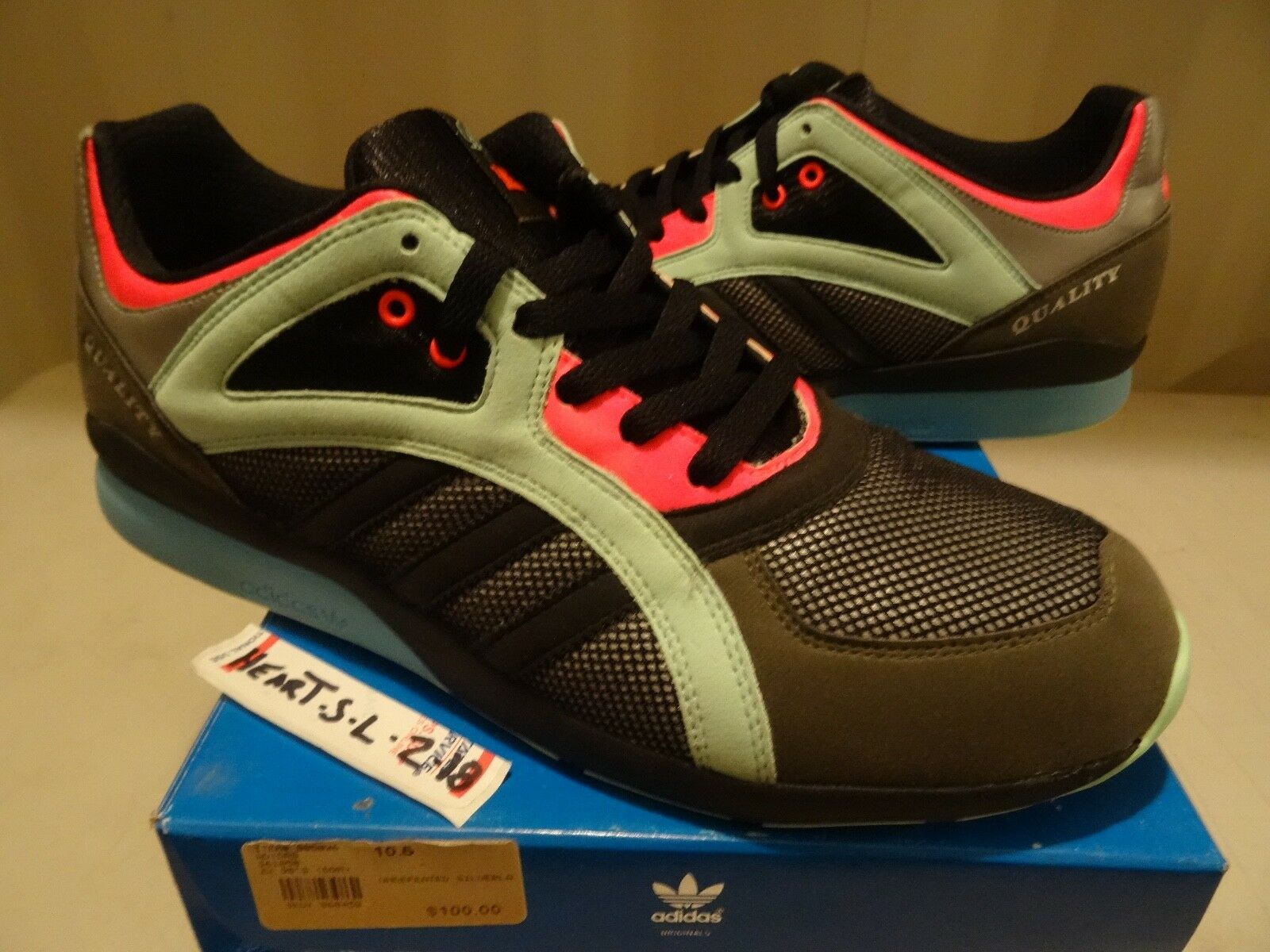 ADIDAS AZX CONSORTIUM ZX 90S RUN DQM 361058 SIZE 10.5 FOOTPATROL JUICE UNDFTD