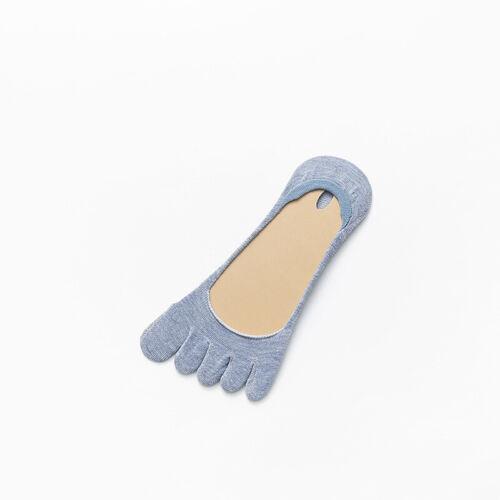 Women Non-slip Toe Socks Soft Casual Invisible Five Fingers Socks High Heels