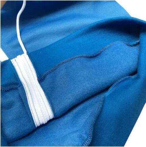 Undertale Sans Blue Zipper Jacket Coat Sweater Sweatshirt Hoodie Adult Kids Size