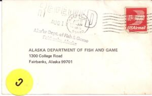 100% De Qualité 1975 Bison Chasse Demande De Permis Casey Linn Mcbride Skagway En Alaska-afficher Le Titre D'origine