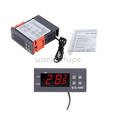 220-240V STC-1000 Digital Temperature Controller Temp Sensor Thermostat Control
