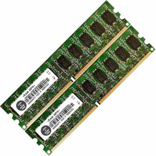 Memory Ram 4 Hp Workstation Desktop xw4550 2x Lot DDR2 SDRAM