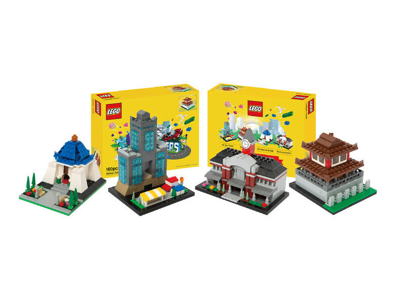 Lego certified taiwan cities of wonder rare complete set insurance delivery