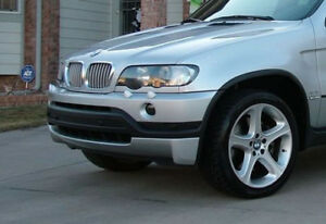 4-6is-skirt-for-BMW-X5-E53-Front-bumper-trim-lip-bodykit-valance-chin-spoiler