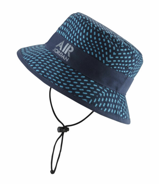 Nike Air Jordan Bucket Hat - Stencil Blue Gray for sale online  99b594ac9
