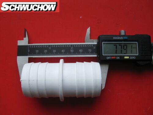 1 Doppelschlauchtülle 38 38 Saugschlauch Pool Schlauchverbinder Bestway Intex