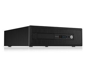 HP EliteDesk 800 SFF USDT G1 W7-32 I5 4570S 2.9Ghz - SATA - 4GB - DVDRW