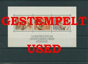 Germany-Federal-Frg-vintage-yearset-1978-Block-16-Postmarked-Used-More-Sh-Shop