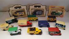 A Job lot of 13 Lledo model Lorries. Good condition