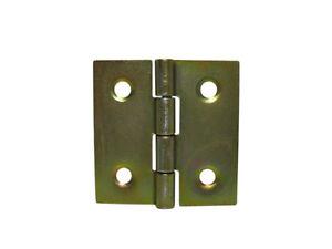 20-x-Moebelband-Stilband-Scharnier-Scharniere-gelb-verzinkt-gerade-H-30mm-B-30mm